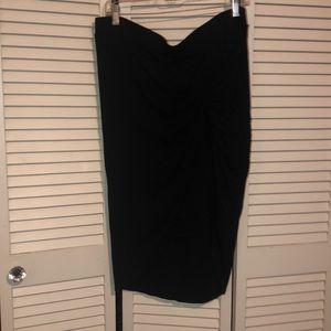 Torrid Twist Wrap Skirt